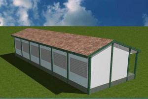3D des 3 salles de classe