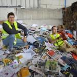Recyclage du papier chez Véolia