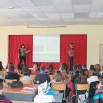 Présentation du projet aux enfants